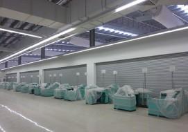 Cửa cuốn siêu trường ST - 100 | Giải pháp cho cho cửa kích thước lớn.
