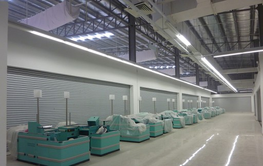 Cửa cuốn siêu trường Austdoor – Giải pháp hoàn hảo cho các công trình kho bãi, nhà xưởng