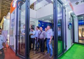 Tập đoàn Austdoor định hướng công nghệ cửa thông minh tại Vietbuild TP HCM 2019