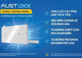 Austlock - Giải pháp khoá thông minh chống cạy cửa cuốn