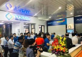 Sức thu hút từ khu trưng bày Austdoor - Vietbuild Đà Nẵng 2019