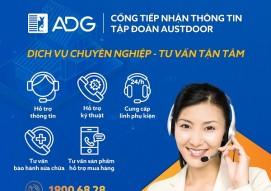 Thông báo các cổng tiếp nhận thông tin của Cửa cuốn Austdoor