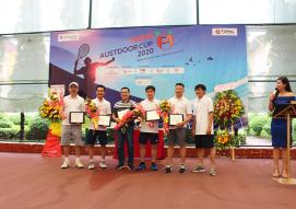 KHỞI TRANH GIẢI TENNIS F4 AUSTDOOR CUP 2020