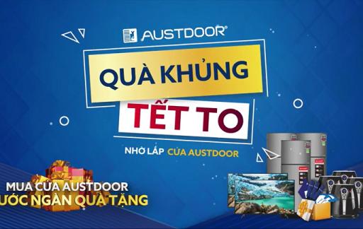 Tổng kết CTKM Mua cửa Austdoor rước ngàn quà tặng