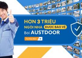 Bảng giá mới nhất cửa cuốn Austdoor Tháng 3/2021 - Miền Nam