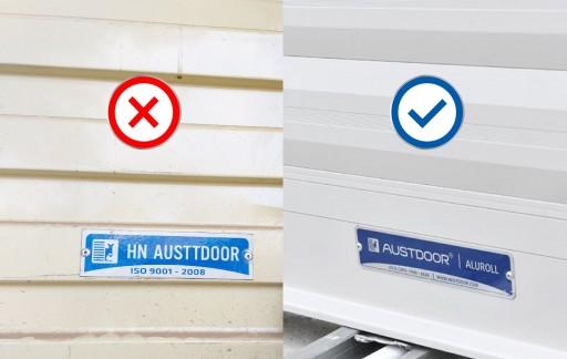 Cảnh báo vấn nạn hàng giả, nhái thương hiệu cửa cuốn Austdoor