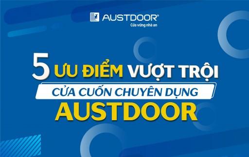 Cửa cuốn chuyên dụng Austdoor đáp ứng tiêu chí nào cho công trình lớn