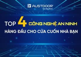 Top 4 công nghệ an ninh hàng đầu cho cửa cuốn được khuyên dùng