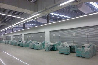 Steel Super-Size Roller Shutters ST100