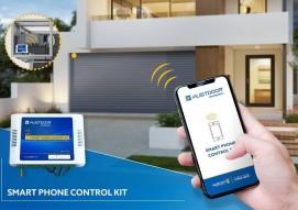 Using mobile phone to control Austdoor smart roller shutter