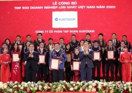 Austdoor Group ranked on Top 500 largest enterprises in Vietnam