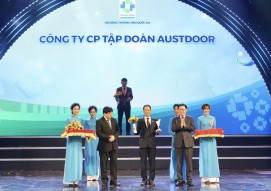 """Austdoor – Rolling door brand has achieved twice in a row """"Vietnam Value"""""""