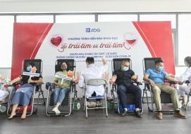 Austdoor employees participate in voluntary blood donation