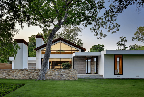Những mẫu thiết kế nhà biệt thự nổi bật với tông màu trắng thanh lịch, hiện đại
