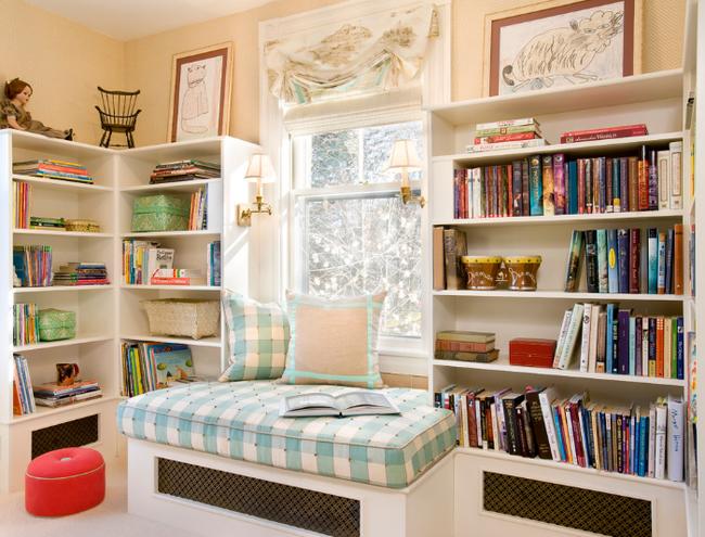 Kiến trúc nhà đẹp: xu hướng thiết kế ghế nằm bên cửa sổ được nhiều người yêu thích